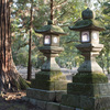 Thumb stone lanterns nara